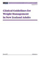 Clinical Guidelines for Weight Management in NZ Adults.