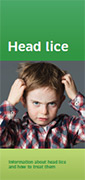 Head lice pamphlet.