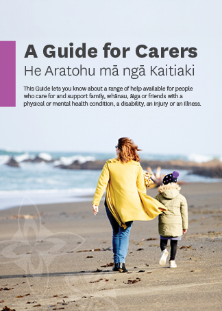 A Guide for Carers cover image.
