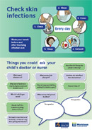 Thumbnail for Check Skin Infections/Questions to Ask Your Child's Doctor or Nurse leaflet.