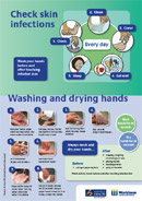 Thumbnail of Check Skin Infections/Washing and Drying Hands leaflet.
