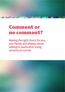 Comment or No Comment booklet.