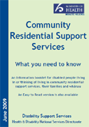 Community Residential Support Services: What you need to know cover image.