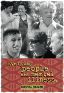Everyday people and mental illness cover image.