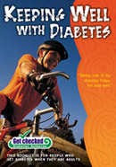 Keeping Well with Diabetes booklet.