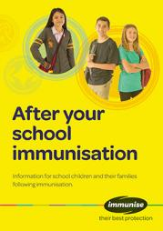 After Your School Immunisation cover thumbnail