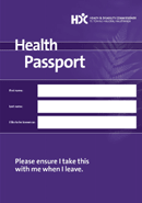 Health Passport cover.