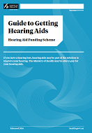 Guide to Getting Hearing Aids: Hearing Aid Funding Scheme thumbnail.