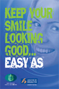 Keep Your Smile Looking Good ... Easy As cover thumbnail.