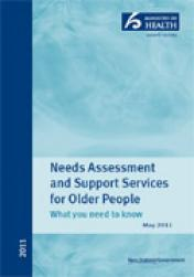 Needs Assessment and Support Services for Older People: What you need to know cover.