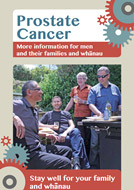 Prostate Cancer booklet thumbnail.