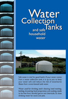 Water Collection Tanks and Safe Household Water cover.
