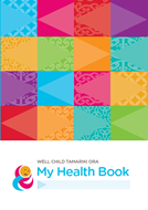 Well Child/Tamariki Ora My Health Book cover.