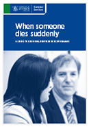 When Someone Dies Suddenly booklet thumbnail.