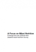 A Focus on Maori Nutrition