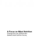A Focus on Maori Nutrition