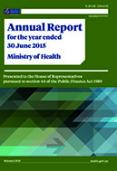 Annual Report for the year ended 30 June 2015: Ministry of Health