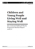 NZ Childhood Obesity Programme Baseline Report 2016/17.