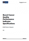 Bowel Cancer Quality Performance Indicator Specifications.