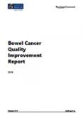 Bowel Cancer Quality Improvement Report 2019.