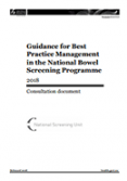 Guidance for Best Practice Management in the National Bowel Screening Programme.