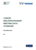 HISO 10038.4 Cancer Multidisciplinary Meeting Data Standard.