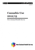 Cannabis Use 2012/13.