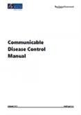 Communicable Disease Control Manual.