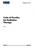 Code of Practice for Radiation Therapy.