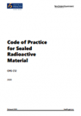 Code of Practice for Sealed Radioactive Material.