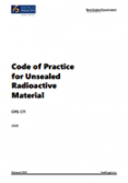 Code of Practice for Unsealed Radioactive Material.