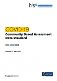 COVID-19 Community Based Assessment Data Standard.
