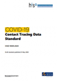 COVID-19 Contact Tracing Data Standard.