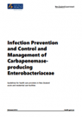 Infection Prevention & Control and Management of Carbapenemase-producing Enterobacteriaceae.