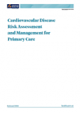 Cardiovascular Disease Risk Assessment and Management for Primary Care.