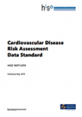 Cardiovascular Disease Risk Assessment Data Standard.