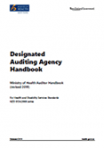 Designated Auditing Agency Handbook.