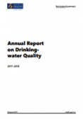 Annual Report on Drinking-water Quality 2017–2018.