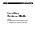 Enrolling Babies at Birth cover