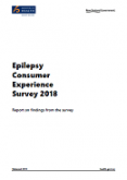 Epilepsy Consumer Experience Survey 2018.
