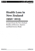 Health Loss in New Zealand 1990–2013.