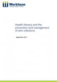 Health Literacy and the Prevention and Management of Skin Infections cover