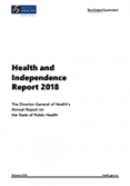 Health and Independence Report 2018.