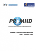 PRIMHD Data Process Standard.