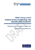 Medical Device Terminology and Identification Standards.