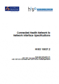 Connected Health Network to Network Interface Specifications.