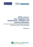 Clinical Document Architecture Templates for Medications, Allergies and Adverse Reactions.