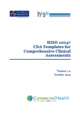 Clinical Document Architecture Templates for Comprehensive Clinical Assessments.