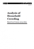 Analysis of Household Crowding based on Census 2013 data