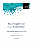 Improving Outcomes in Age Residential Care.